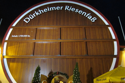 Riesenfass Bad Dürkheim