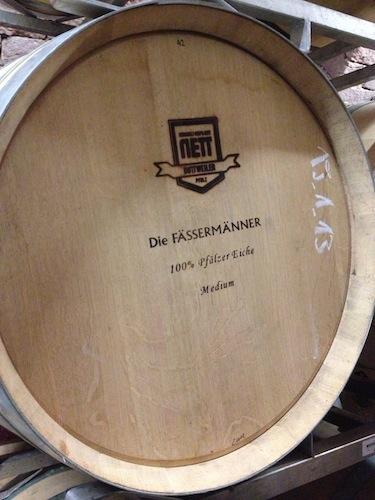 Pfälzer Eiche im Weingut BR-Nett
