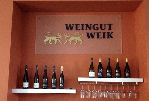 Veranstaltungsraum Weingut Weik