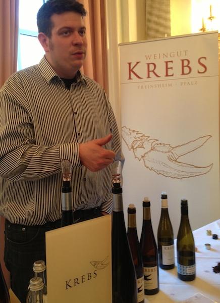 Jürgen Krebs, Weingut Krebs