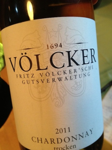 2011er Chardonnay trocken, Weingut Völcker