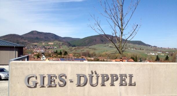 Einfahrt Weingut Gies-Düppel