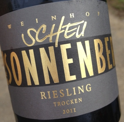 2011 Riesling Sonnenberg, Weinhof Scheu
