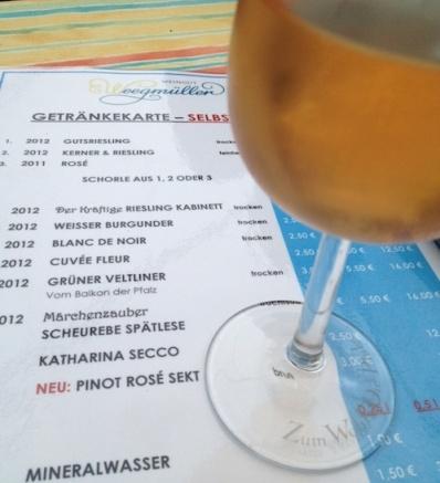 Pinot Rosé Brut @ Weegmüllers Weindowner