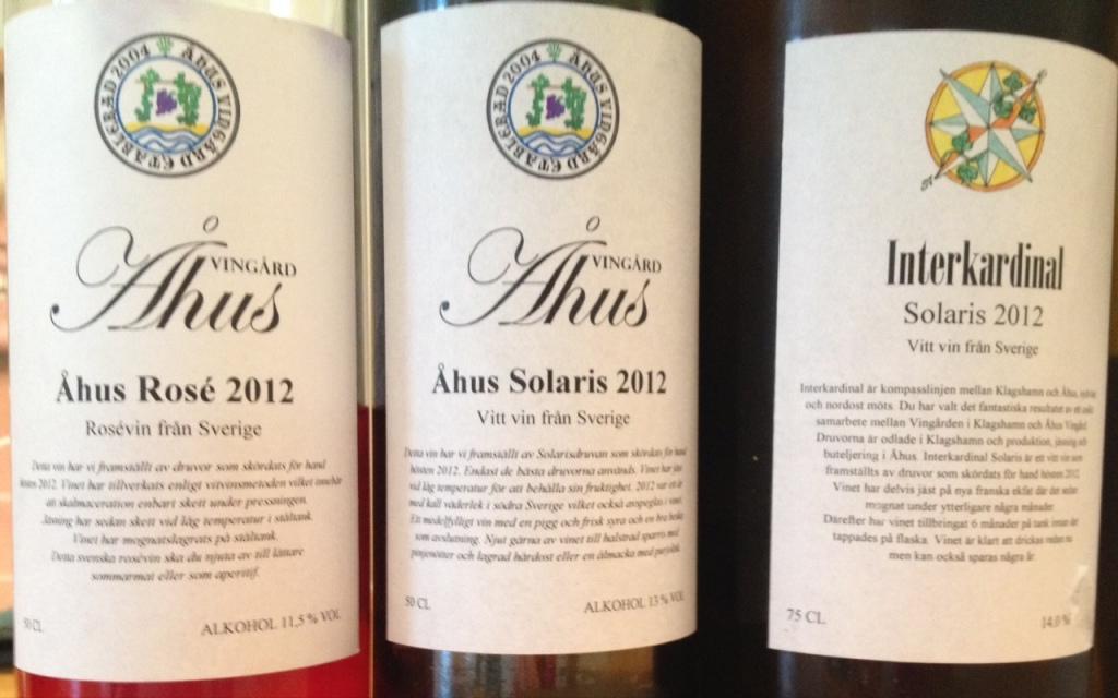 Schwedische Weine aus Åhus, Schweden