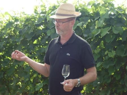 Ronny Persson, Åhus Vingård, passionierter Weinmacher Foto © gunillavin.se