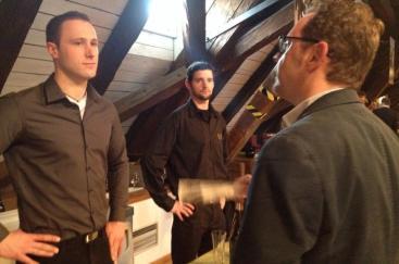Frank Schäfer und Matthias Klohr im Gespräch mit Matthias Krieger