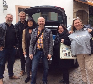 Magnus Reuterdahl, André Fasth, Heike Larsson, Julius Eyem, Anne Naumanen, Anna Torndahl. #Pfalz14 #winelover