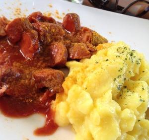 Currywurst im Keschdebusch