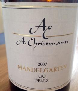 2007 Mandelgarten GG, Christmann