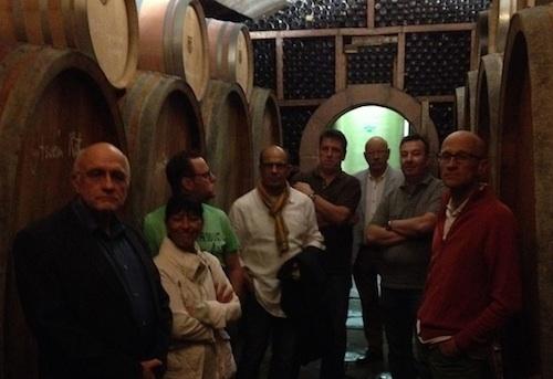 Einige der Neustadter Weinfreunde