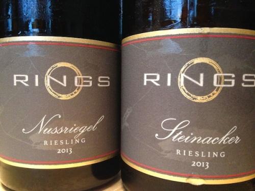 2013 Rings Riesling Nussriegel & Steinacker