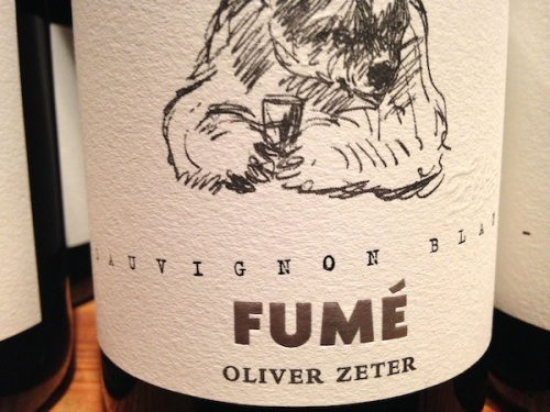 2013 Sauvignon Blanc Fumé. Weinprobe Neustadter Weinfreunde bei Oliver Zeter.