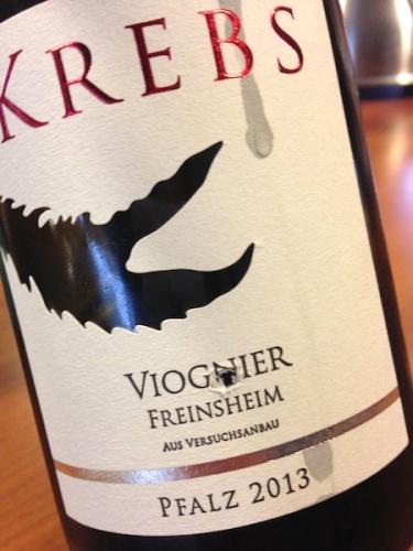 2013 Viognier, Krebs.