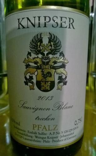 2013 Sauvignon Blanc Knipser