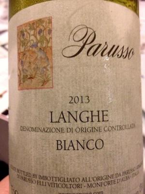 2013 Langhe Bianco DOC 2013