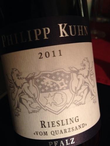 Philipp Kuhn Riesling vom Quarzsand