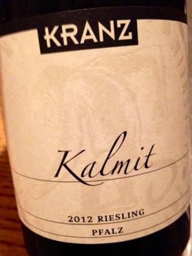 2012 Kalmit Riesling GG, Kranz