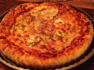 ….pan pizza für die anderen