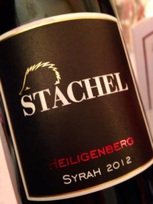 2012 Heiligenberg Syrah, Stachel