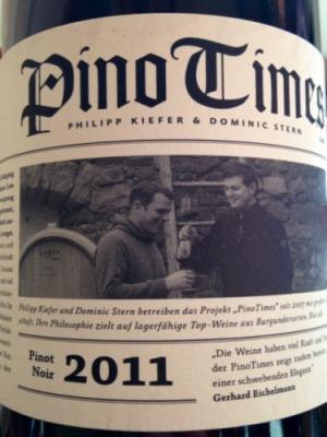 2011 Pinotimes Pinot Noir, Stern & Kiefer