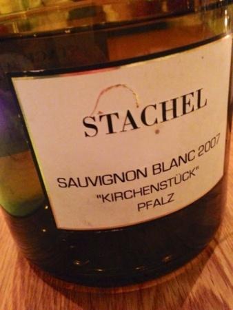 2007 Sauvignon Blanc, Stachel