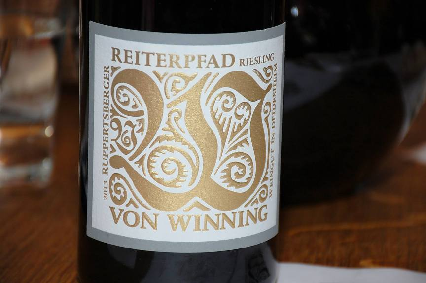 Reiterpfad Riesling - 2013, Von Winning, (C) Stephan Nied