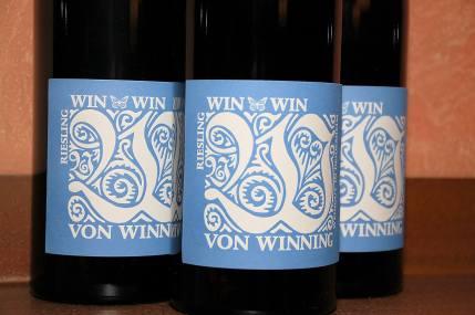 WIN WIN Riesling, Von Winning, (C) Stephan Nied