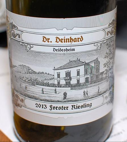 Forster Riesling UK - 2013, Dr. Deinhard