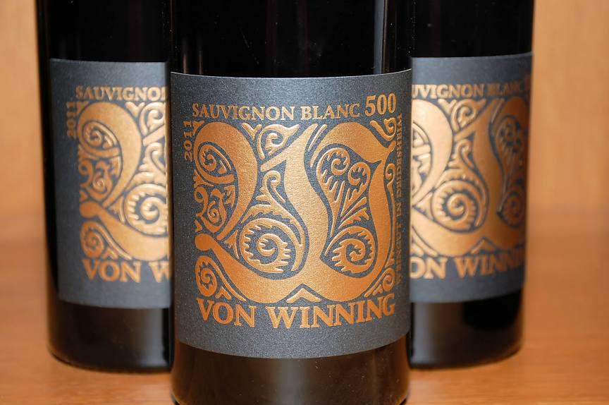 Sauvignon Blanc 500 - 2011, Von Winning, (C) Stephan Nied