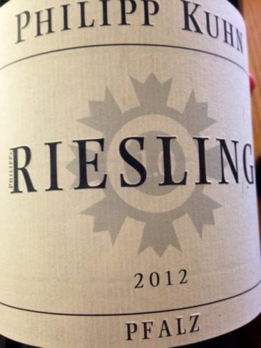2012 Riesling trocken, Philipp Kuhn
