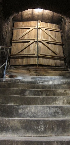Treppe zum ursprünglichen Keller @ von Winning. © LL www.kingscreek.de