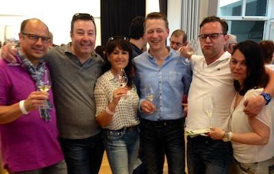 Neustadter Weinfreunde mit Michael Gnägy