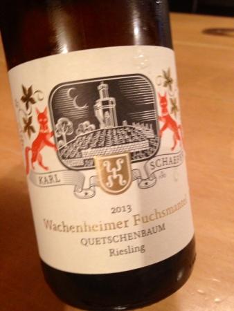 2013 Wachenheimer Fuchsmantel Quetschenbaum Riesling