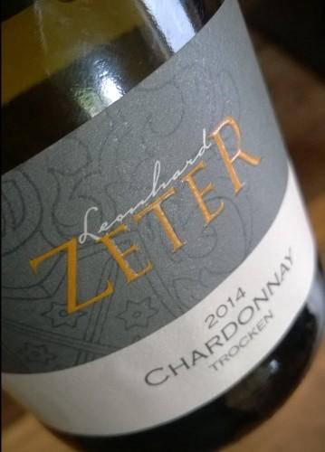 Chardonnay - 2014, Leonhard Zeter