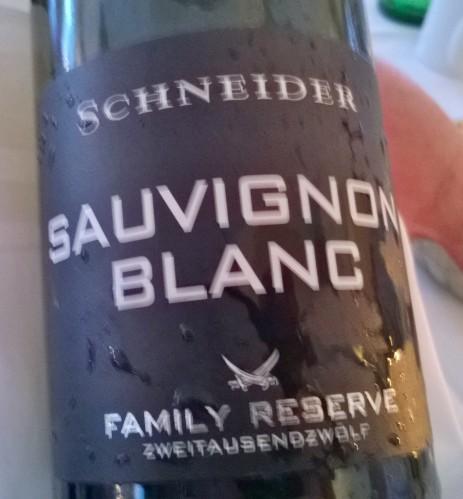 2012, Sauvignon Blanc, Family Reserve, Weingut Markus Schneider
