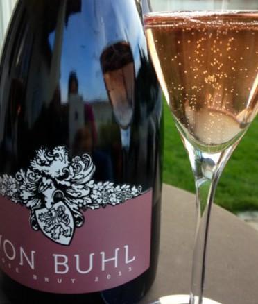 2013 Rosé Brut, von Buhl