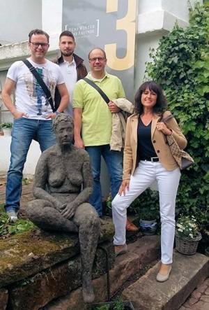 Neustadter Weinfreunde auf JGP-Tour