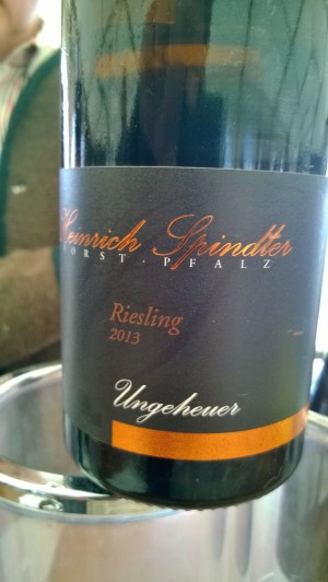 2013 Riesling Ungeuer, Heinrich Spindler
