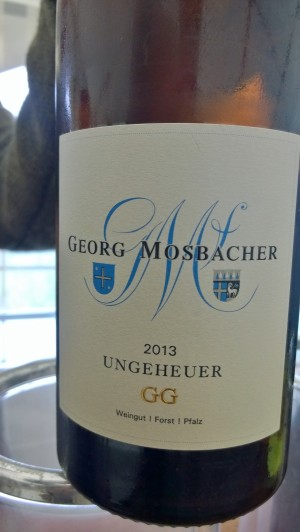 2013 Riesling Ungeheuer, Mosbacher