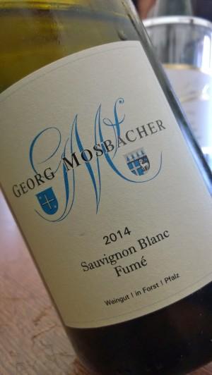 2014 Sauvignon Blanc Fumé, Mosbacher