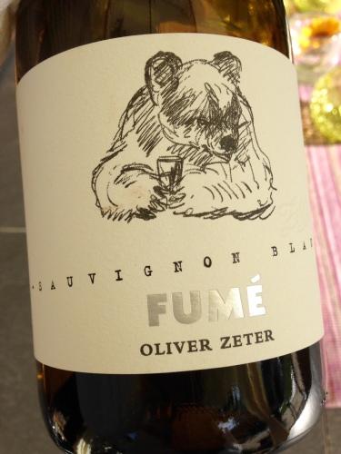 2013 Sauvignon Blanc Fumé, Oliver Zeter