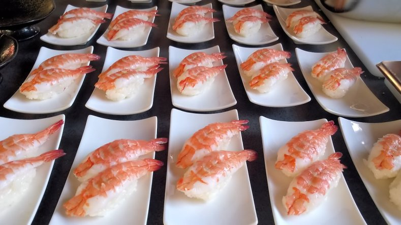 Shrimp Nigiri © Stephan Nied