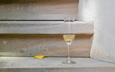 Sekt auf Sandstein © LL kingscreek.de