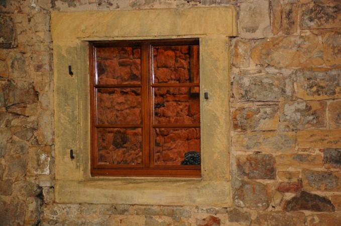 Fenster im Innenhof