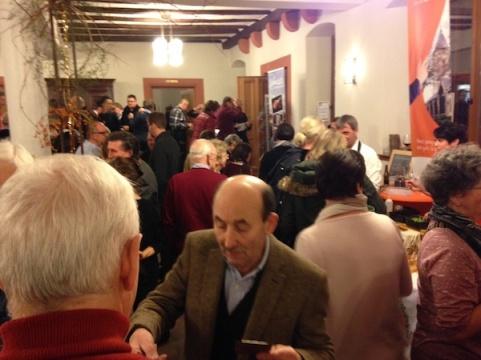 viele Gäste waren gekommen