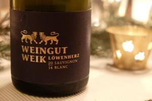 2014 Sauvignon Blanc Löwenherz, Weik