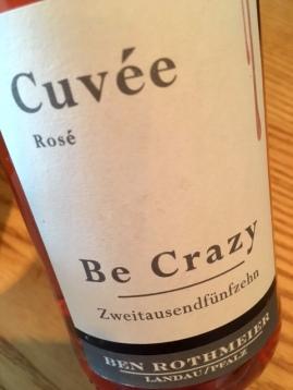 Be Crazy! Cuvée Rosé
