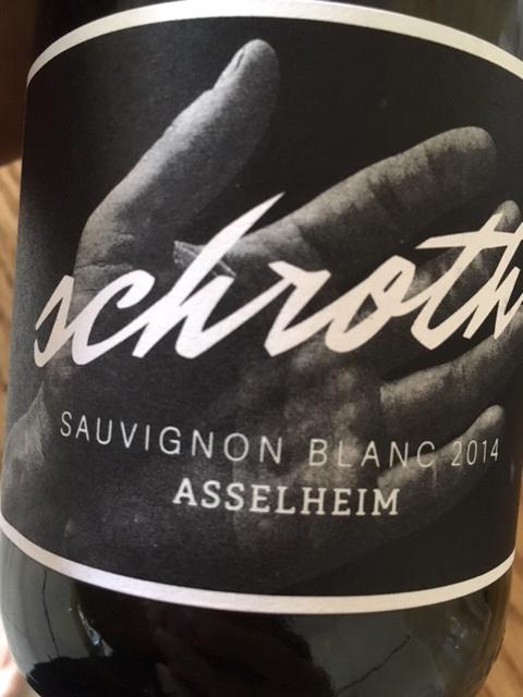 Michael Schroth Sauvignon Blanc