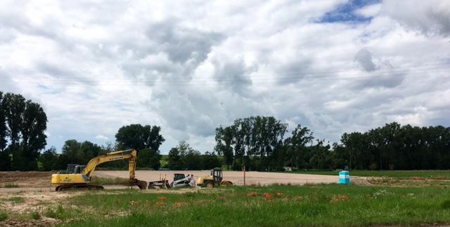 BR-Nett, Baustelle Juni 2016